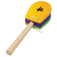 Castanet Handle-Yellow&Green