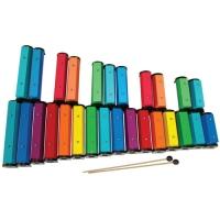 Colored Chromatic Chime Bars-27N