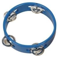 Wood Tambourine-Blue